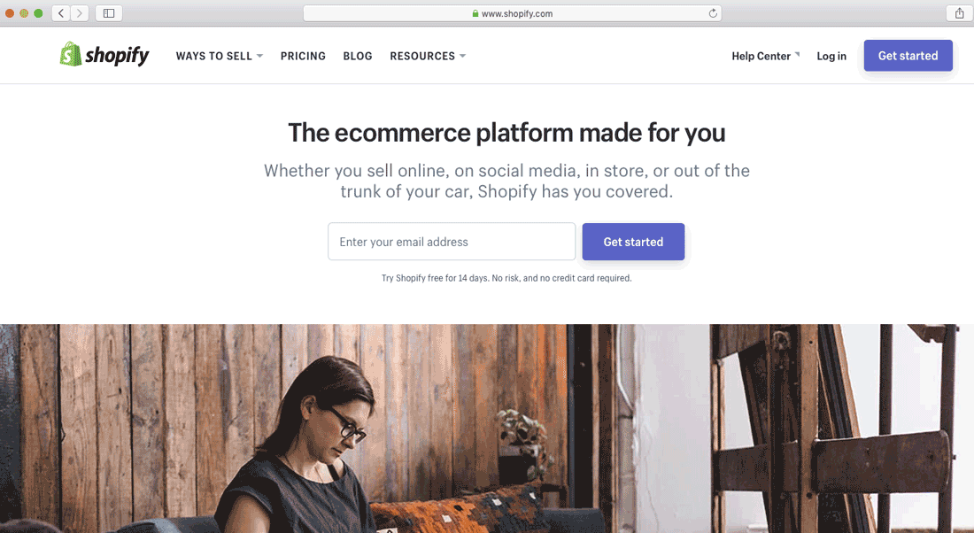 shopify store account setup step 01
